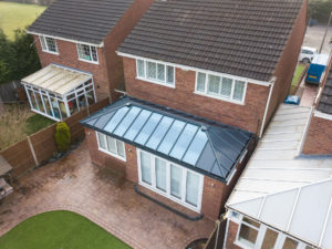 Solid Roof House Extension Quote, Kenilworth