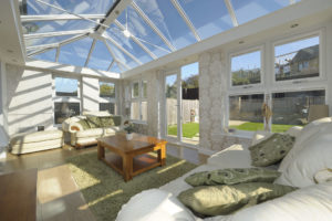 Glass Orangery Roof Warwickshire
