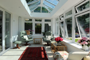 Glass Roof Orangery Kenilworth