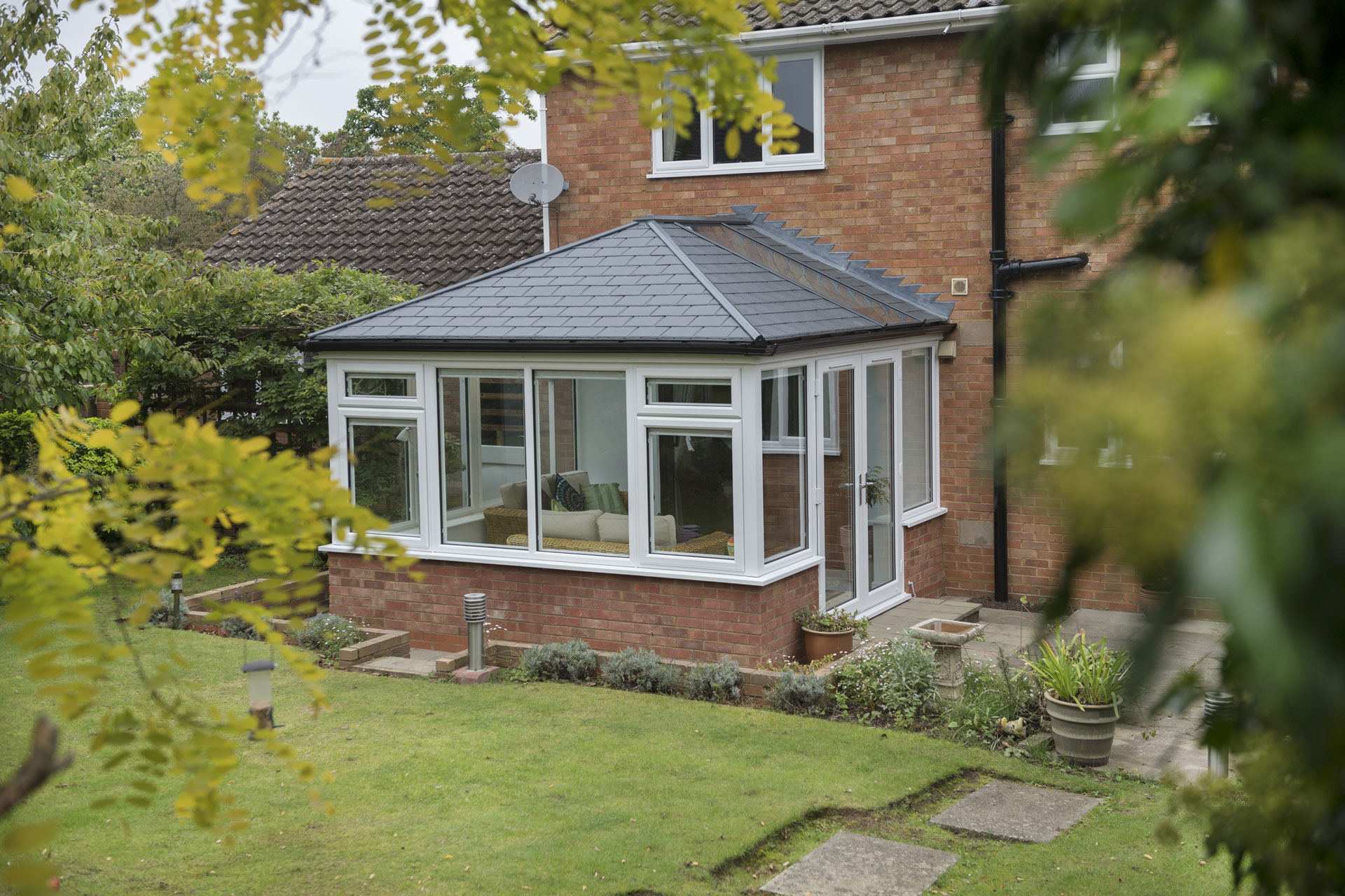 tiled conservatory roof styles warwickshire