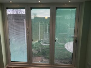 Folding doors with Integral Blinds