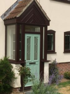 Double Glazed Windows & Doors in Porch