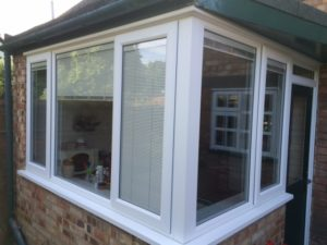 Privacy blinds in Conservatory Kenilworth