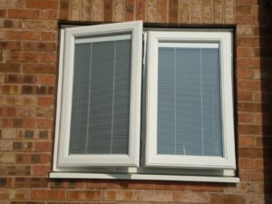 uPVC Windows with Integral Blinds Kenilworth