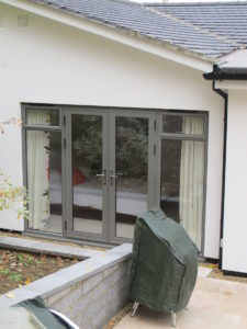 Grey French Doors Kenilworth