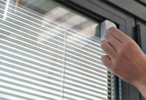 Double Glazing with Integral Blinds