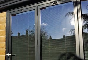Integral Blinds in Bi-Fold Doors