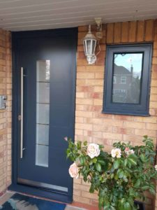 Replacement Front Door Aluminium, Warwickshire