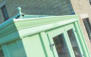 Green Modern Orangery Warwick