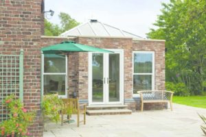 Orangery with lantern roof