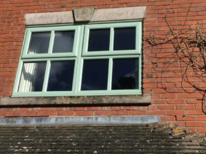Chartwell Green kommerling UPVC Windows