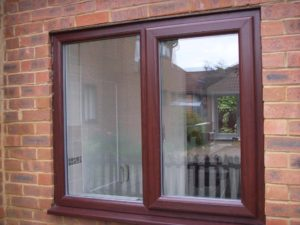 Rosewood Brown uPVC Windows Kenilworth