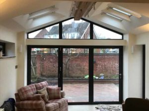 House Extension with Bi-Fold Doors Warwick