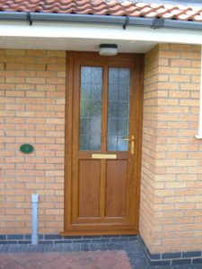 Golden Oak Front Door Kenilworth