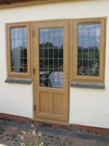 Timber Back Doors