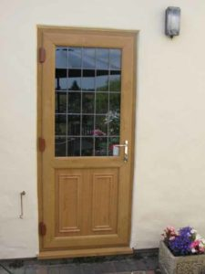 Timber Effect Back Door Warwick