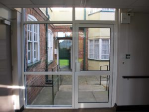 Aluminium Doors for Commercial Property