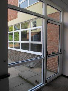 Commercial Aluminium Doors Warwick