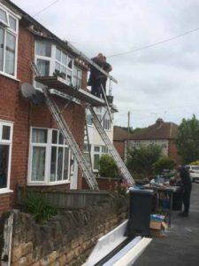Roofline Construction Work, Warwick