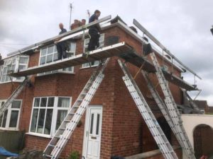 Replacement Roofline Fitted, Kenilworth