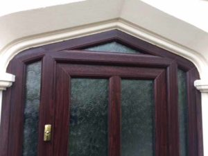 Mahogany front door Kenilworth