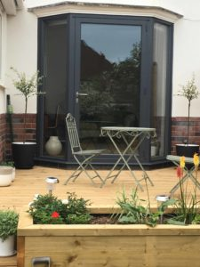 Aluminium Back Porch Doors