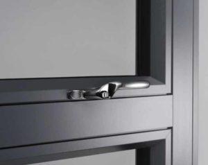 Aluminium Windows Closeup