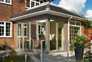 Corner Bi-Folding Doors Kenilworth