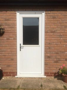 Composite Doors for Back of House