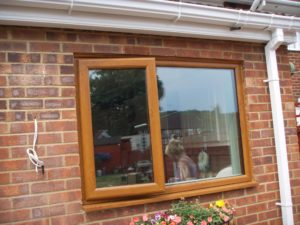 Light Oak uPVC Windows Leamington Spa