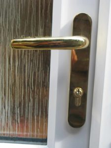 Gold door furniture