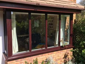 Woodgrain effect windows Warwick
