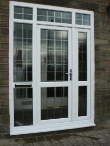 uPVC Entrance with Side Panels Kenilworth