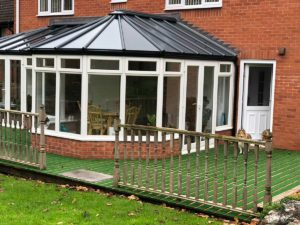 livinroof solid conservatory roof redditch