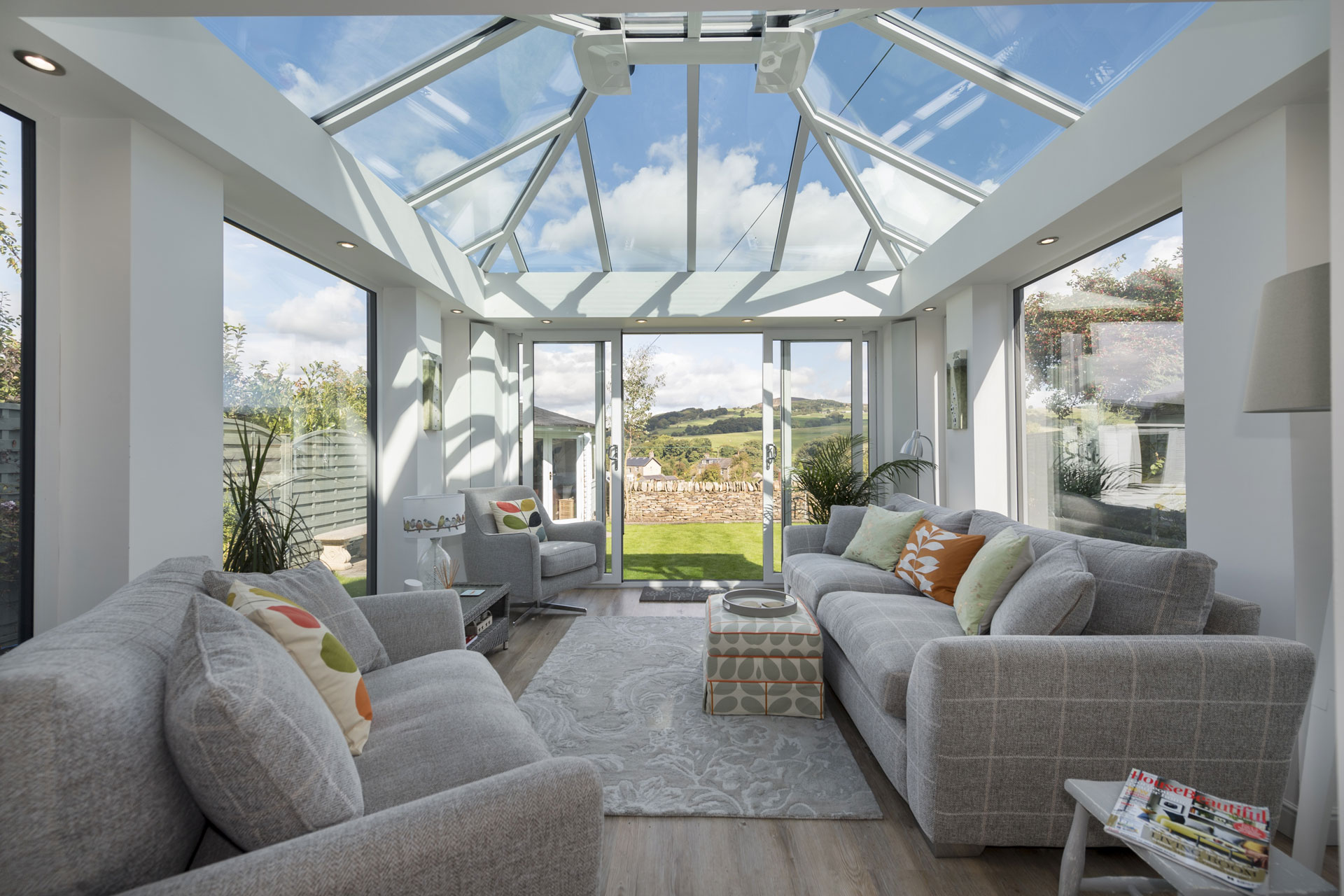 glass conservatory roof styles warwickshire