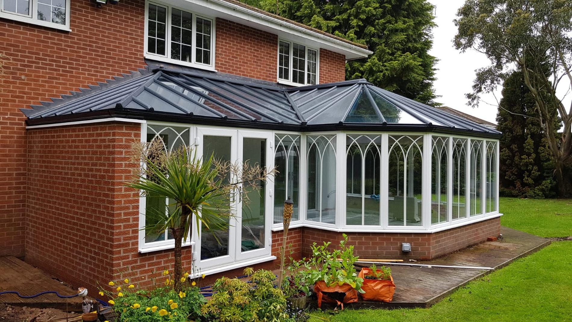 Ultraframe Solid LivinRoof extensions Kenilworth Warwickshire