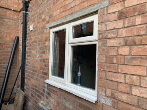 exterior house upvc windows