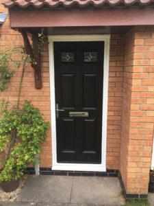 black composite door kenilworth